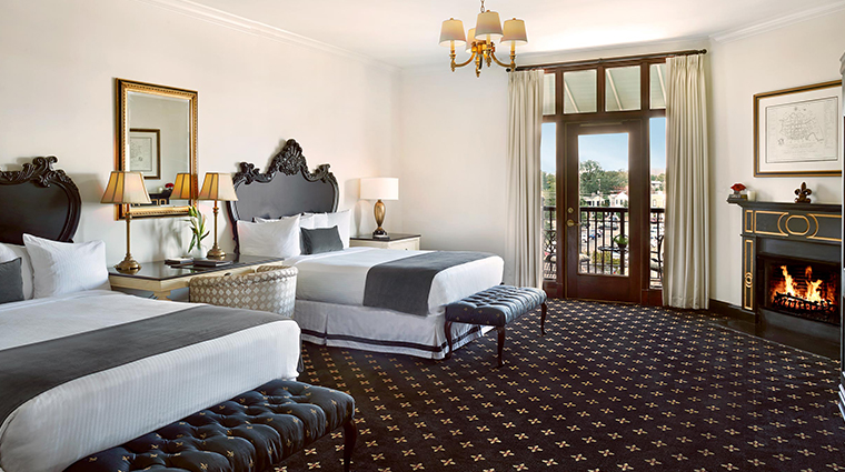 french quarter inn premium balcony suite