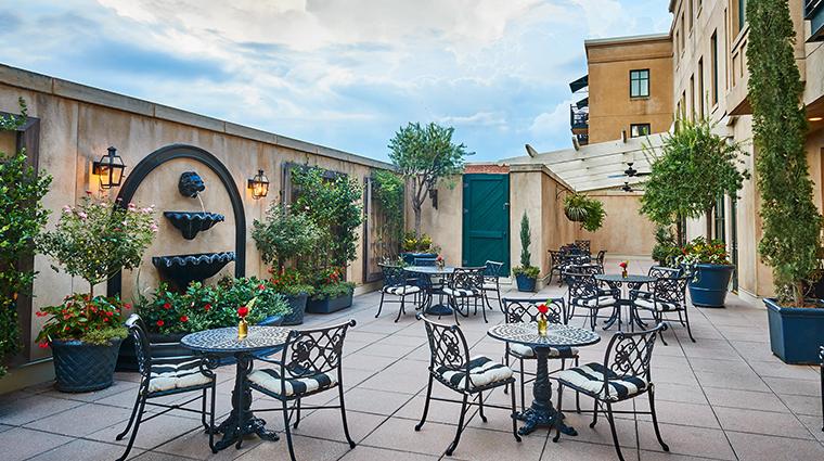 french quarter inn terrace day
