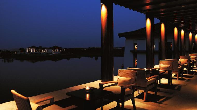 fuchun resort hangzhou lake lounge terrace
