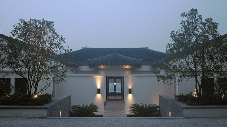 fuchun resort hangzhou villa entrance