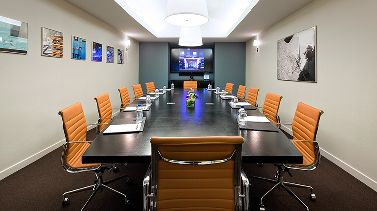 gansevoort meatpacking nyc boardroom