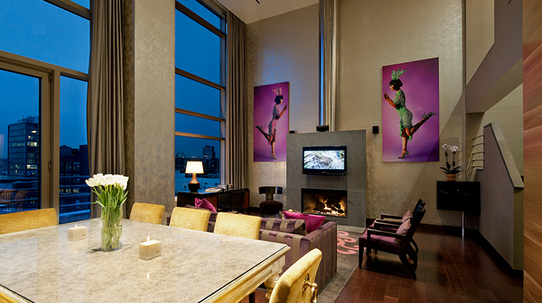 gansevoort meatpacking nyc duplex penthouse suite