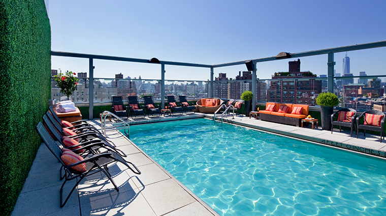 gansevoort meatpacking nyc pool