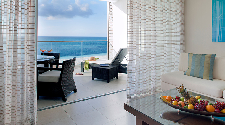 gansevoort turks caicos one bedroom suite terrace