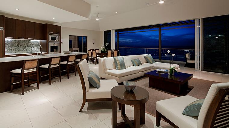 gansevoort turks caicos penthouse living room