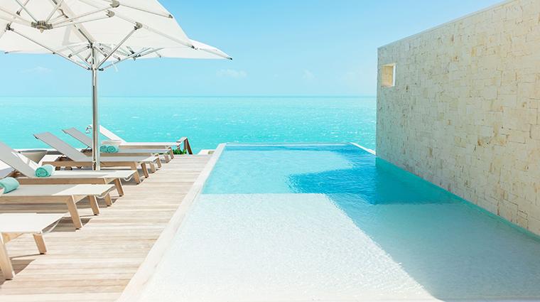 gansevoort turks caicos villa pool