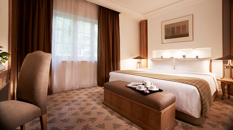 Goodwood Park Hotel junior suite bedroom