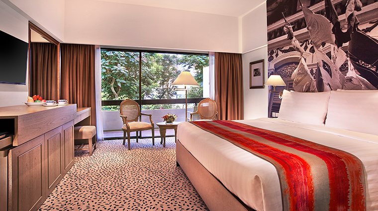 Goodwood Park Hotel mayfair bedroom