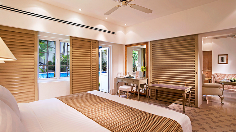 Goodwood Park Hotel poolside bedroom