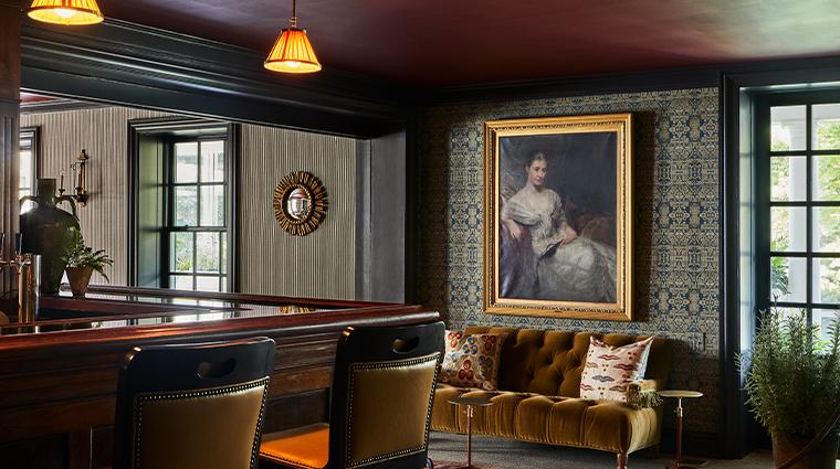 grace mayflower inn spa restaurant tap room