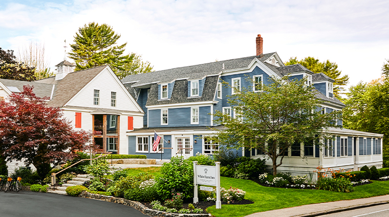 grace white barn inn spa exterior3
