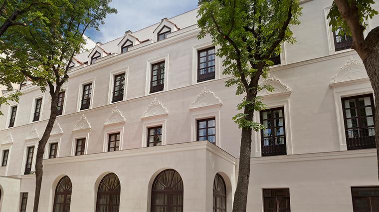 gran melia palacio de los duques back facade
