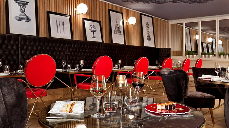 gran melia palacio de los duques montmarte restaurant experience