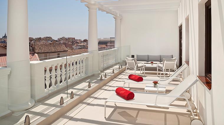 gran melia palacio de los duques presidential suite terrace