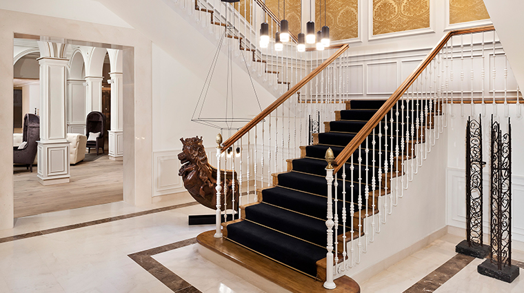 gran melia palacio de los duques staircase