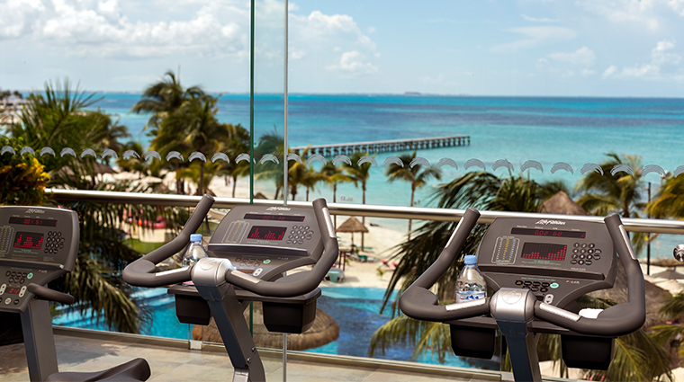grand fiesta americana coral beach cancun fitness center