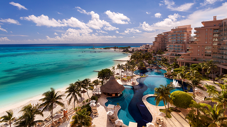 grand fiesta americana coral beach cancun pool view daytime