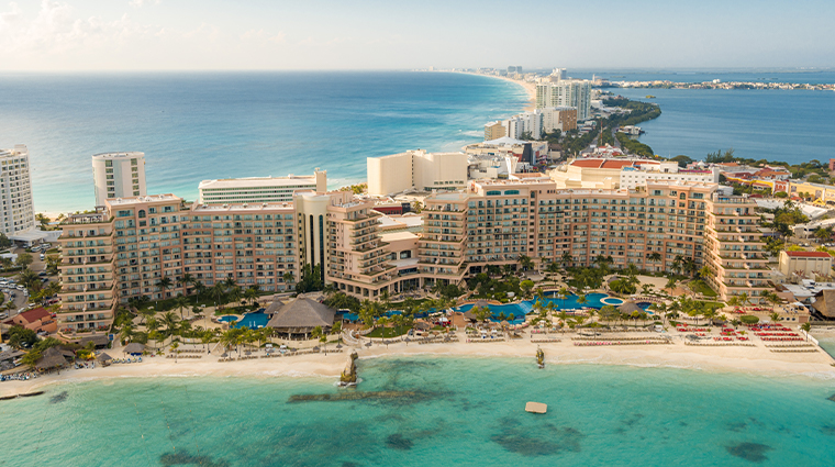 grand fiesta americana coral beach cancun vista