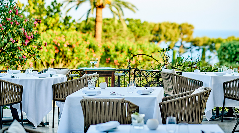 grand hotel du cap ferrat a four seasons hotel outdoor seating