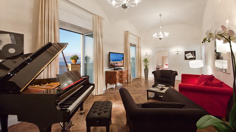 grand hotel excelsior vittoria Lucio Dalla Suite