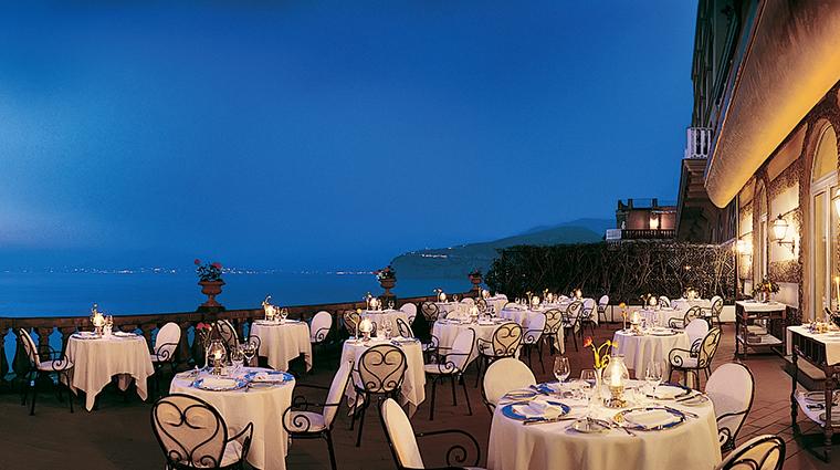 grand hotel excelsior vittoria Terrazza Bosquet
