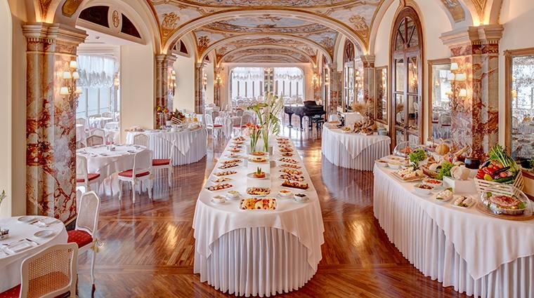 grand hotel excelsior vittoria Vittoria Breakfast Room