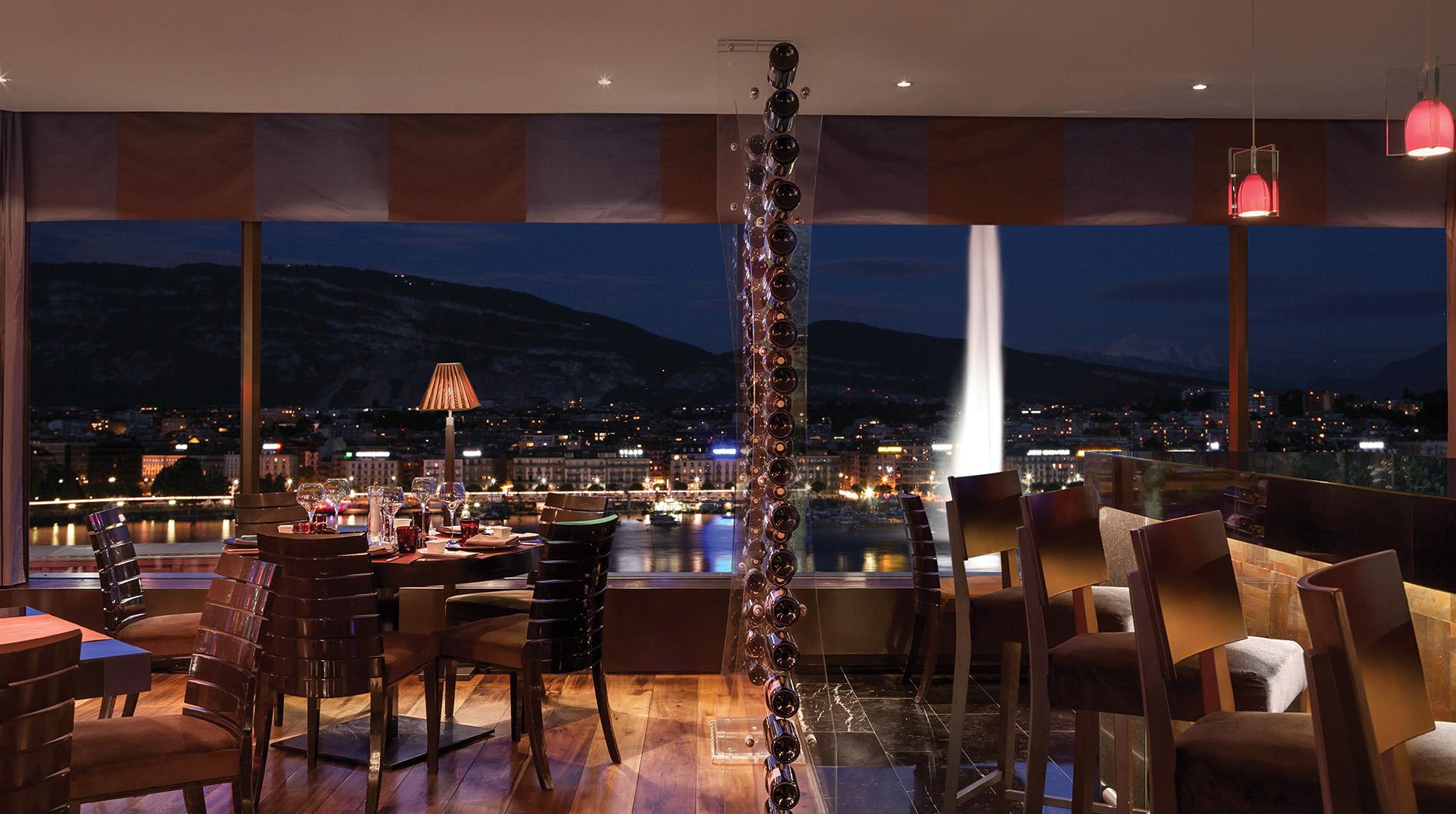 Kempinski Geneva Grill View