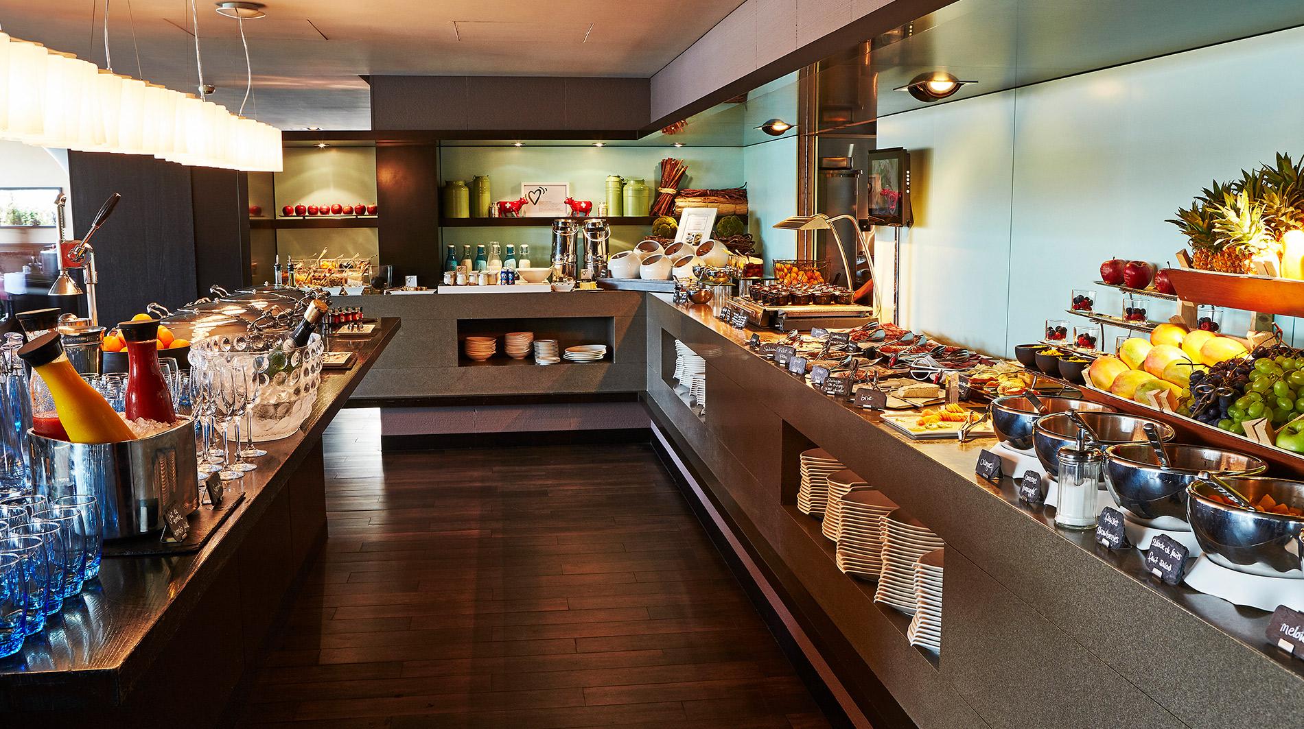 Kempinski Geneva buffet