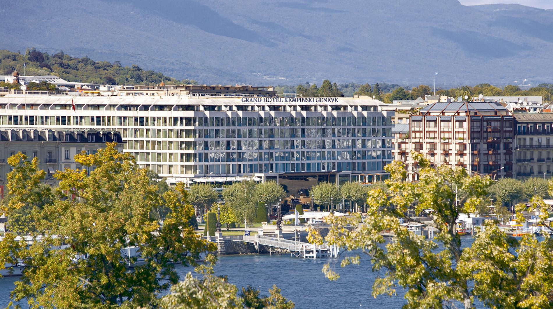 Kempinski Geneva exterior