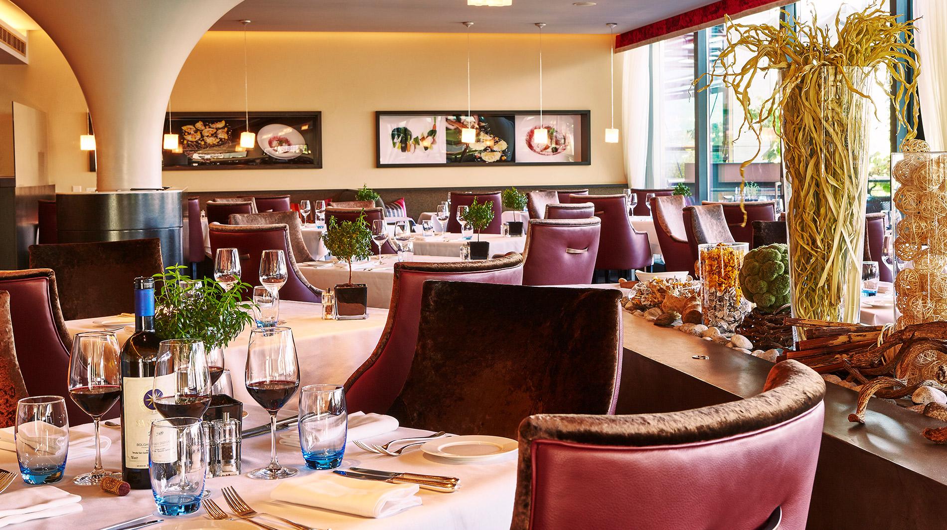 Kempinski Geneva restaurant