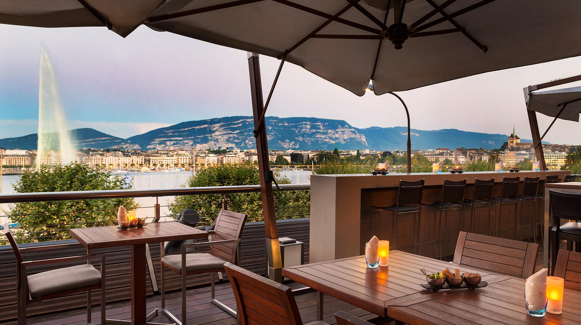 Kempinski Geneva terrace