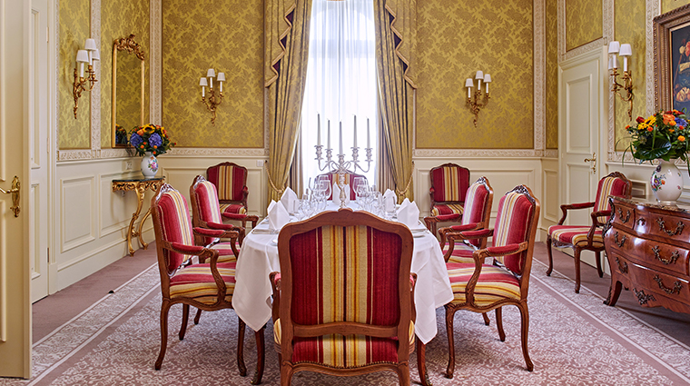 grand hotel wien presidential suite dining