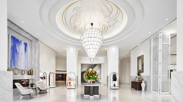 hotel martinez chandelier