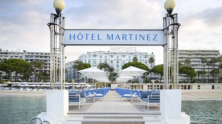 hotel martinez la plage du martinez