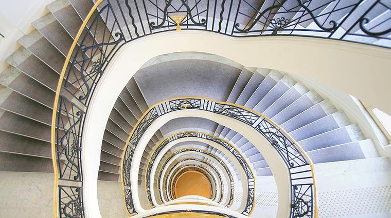 hotel martinez stairs