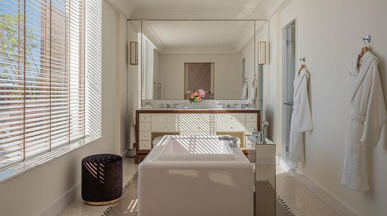 hotel martinez suite penthouse bathroom