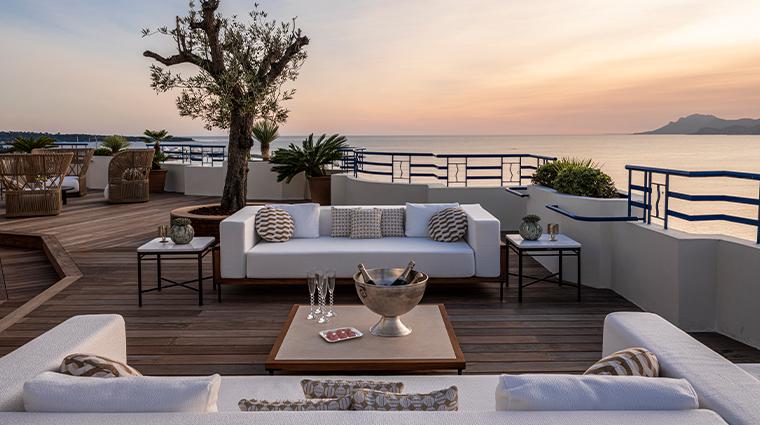 hotel martinez suite penthouse terrace
