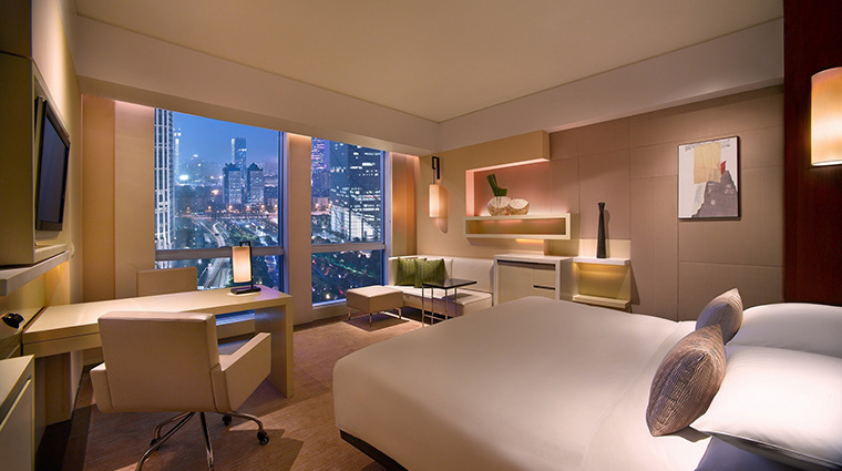Grand Hyatt Guangzhou king room