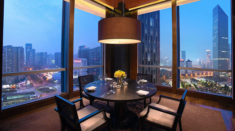 Grand Hyatt Guangzhou restaurant