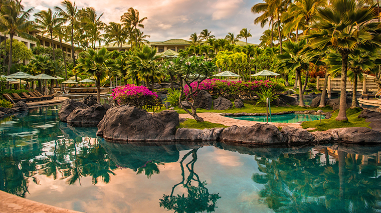 grand hyatt kauai resort and spa lower pool