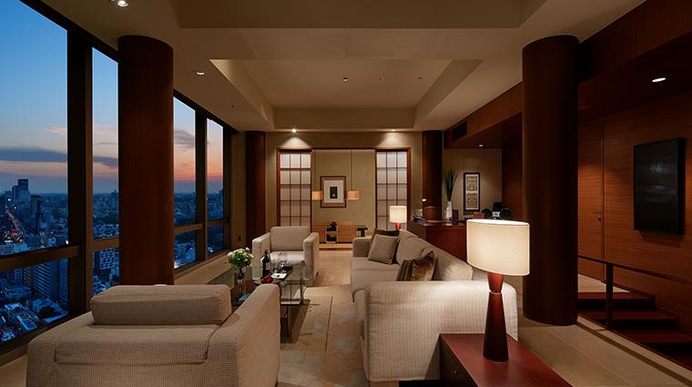 Grand Hyatt Tokyo living room