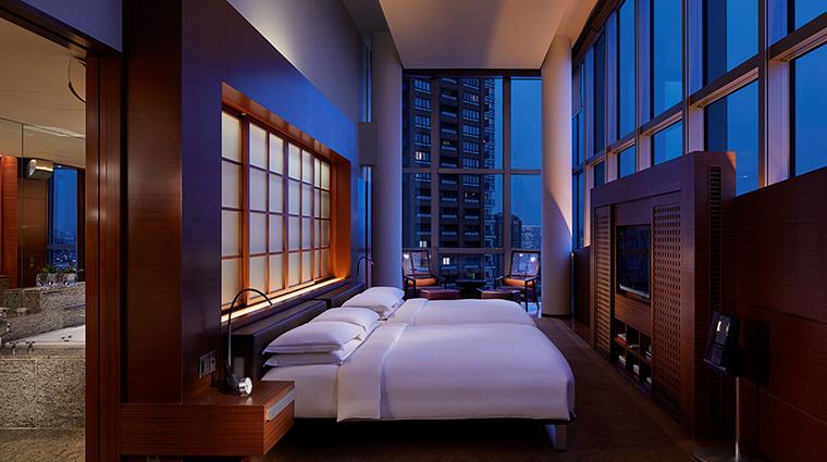 Grand Hyatt Tokyo presidential suite bedroom