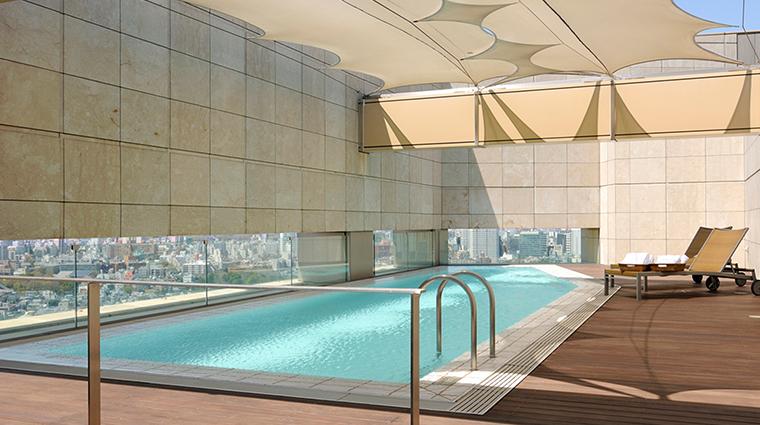 Grand Hyatt Tokyo presidential suite pool