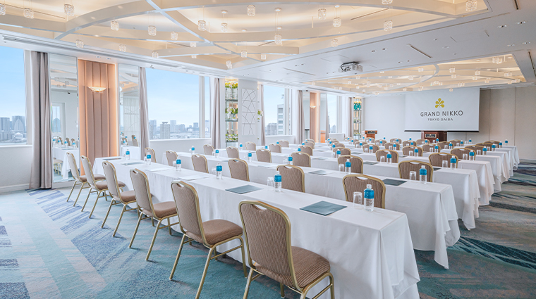 grand nikko tokyo daiba banquet room