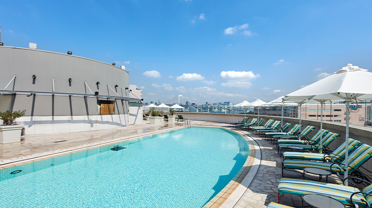 grand nikko tokyo daiba terrace pool