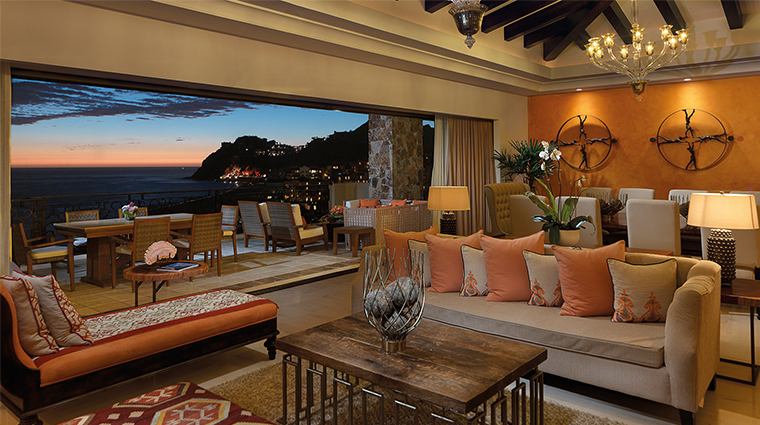 grand solmar lands end resort and spa penthouse living room