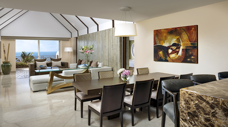 grand velas riviera maya presidential suite living room