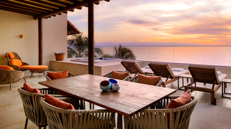 grand velas riviera nayarit presidential terrace sunset