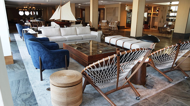 gurneys newport resort and marina lobby seating