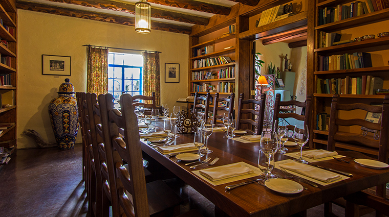 hacienda del sol guest ranch resort private library